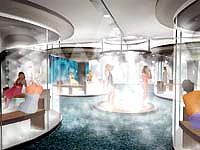 thermae bath spa steam room image